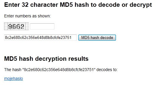 Dekoder MD5