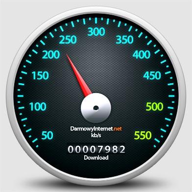 Test internetu Aero2