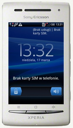 Telefon bez karty SIM
