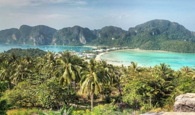 Phi Phi Island w Tajlandii