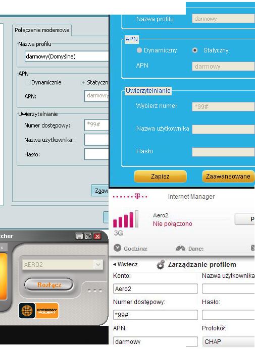 Wskazówki ułatwiające sposób konfiguracji Bezpłatnego Dostępu do Internetu