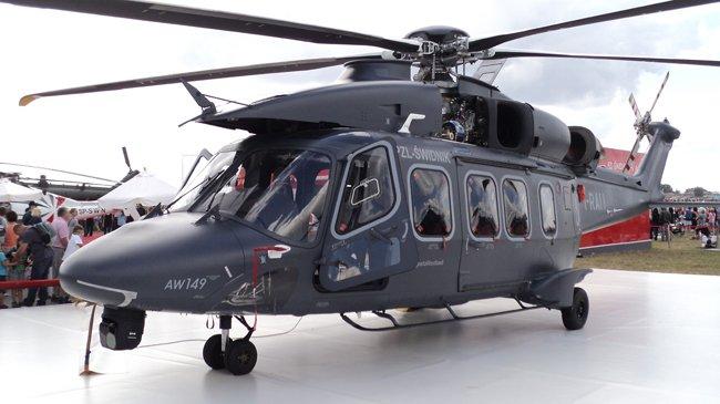 AgustaWestland AW149 – wielozadaniowy śmigłowiec wyprodukowany przez firmę AgustaWestland