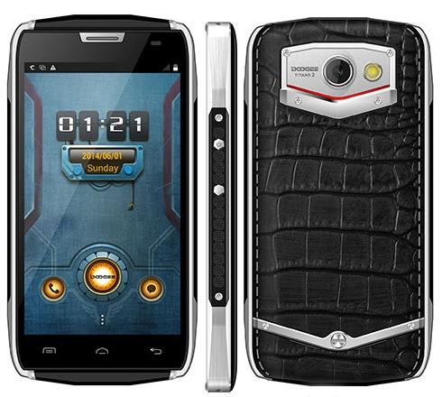 """Smartfon - DOOGEE Titans2 DG700 Android 4.4 MTK6582 bateria 4000mAh wyświetlacz 4.5"""" IP67"""